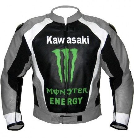 Kawasaki Man Racing Leather Jacket