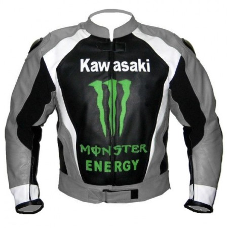 Kawasaki Man Racing Leather Jacket
