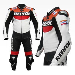 HONDA Repsol Motorcycle Leather Suit BSM 2958
