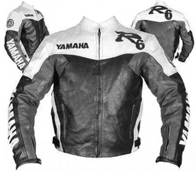 Yamaha R6 Motorbike Leather Jacket BMJ2820