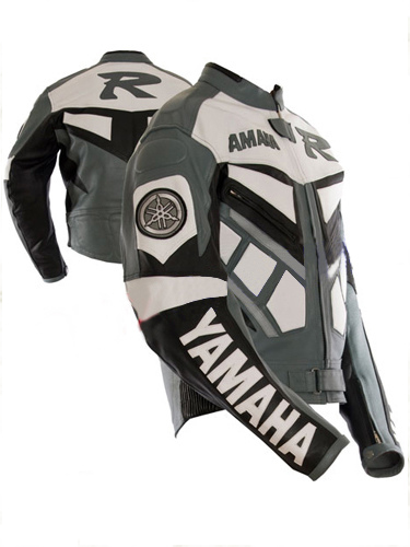 Yamaha R Branded Men Racing Motorbike Leather