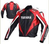 Yamaha Motorbike Racing Leather Jacket