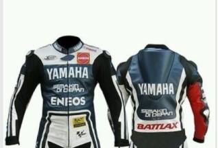 Yamaha ENEOS Motorbike Leather Jacket