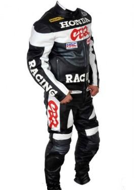 HONDA Repsol Motorcycle Men Racing Leather Suit