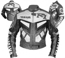 Yamaha R1 Motorbike Leather Jacket BMJ2812