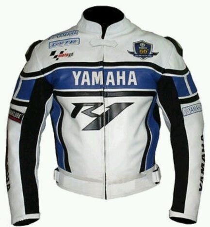 Yamaha R1 Motorbike Leather Jacket BMJ2854