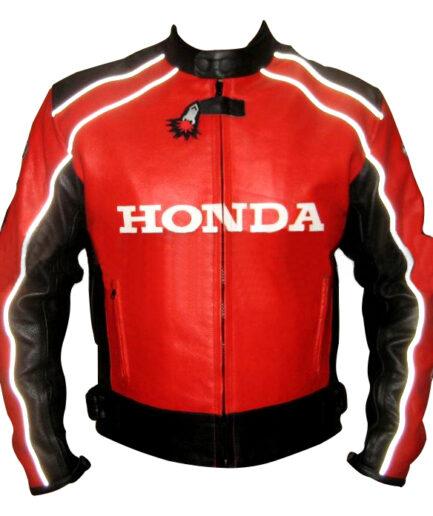 HONDA Motorbike Leather Jacket