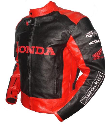 HONDA Motorbike Leather Jacket BMJ2918