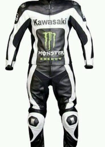 Kawasaki Motorbike Leather Suit