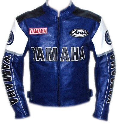 Yamaha Racing Motorbike Leather Jacket BMJ2864