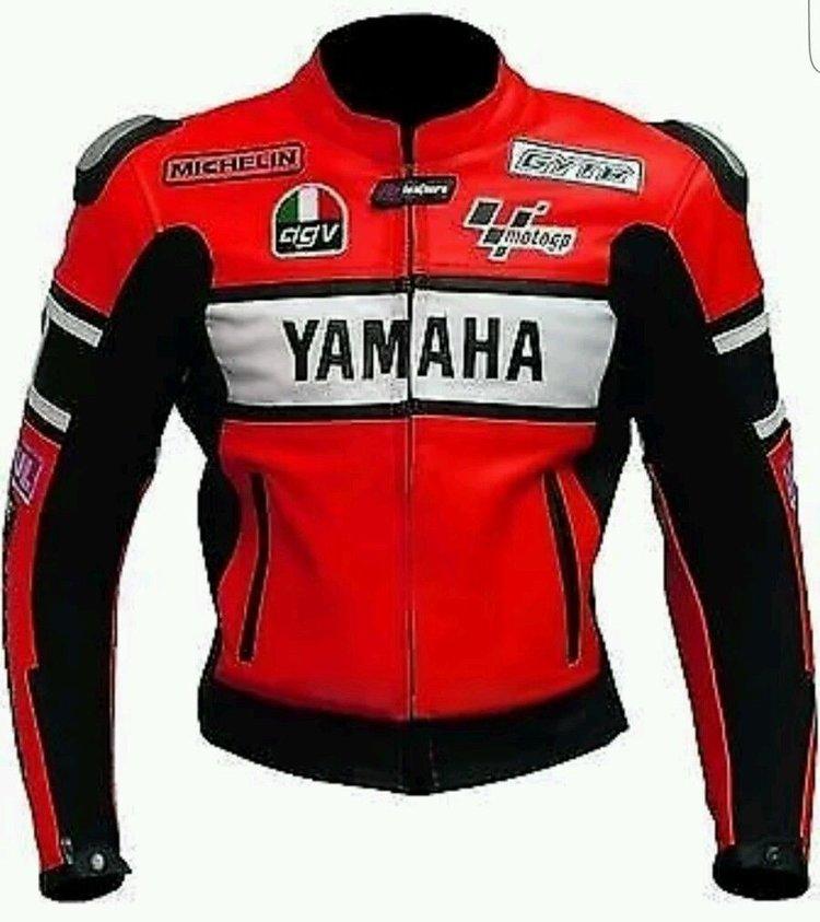 Yamaha Motorcycle Sport Leather Jacket