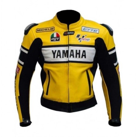 Yamaha Motorbike Leather Jacket BMJ2861