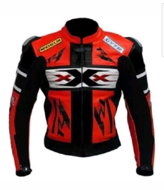 Yamaha Motorbike Leather Jacket BMJ2862