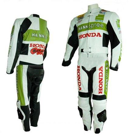 HONDA Hannspree Motorbike Leather Suit