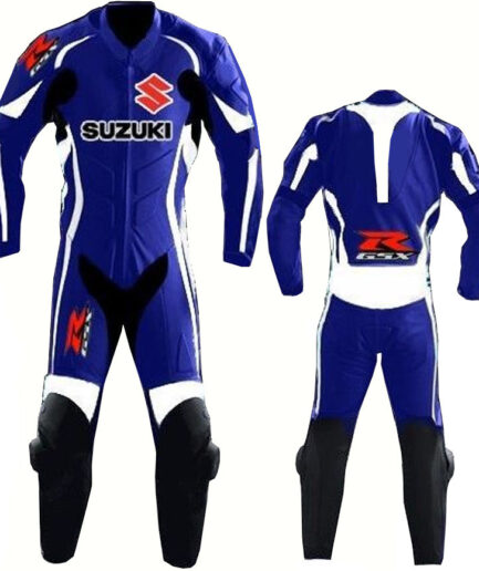 SUZUKI GSXR Motorcycle Leather Suit BSM 2760