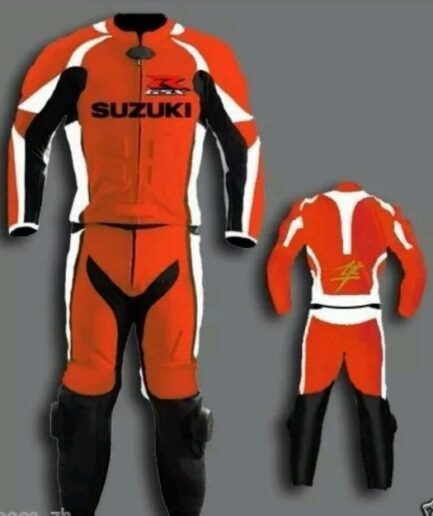 SUZUKI GSXR Motorbike Leather Suit BSM 2762