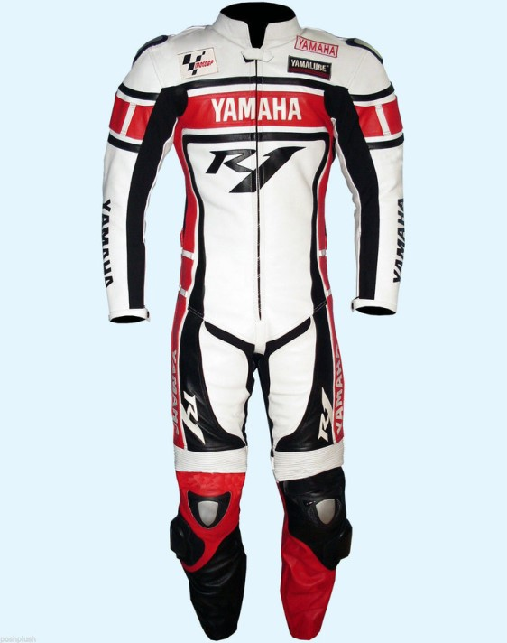 YAMAHA Motorcycle Raceing Leather Suit