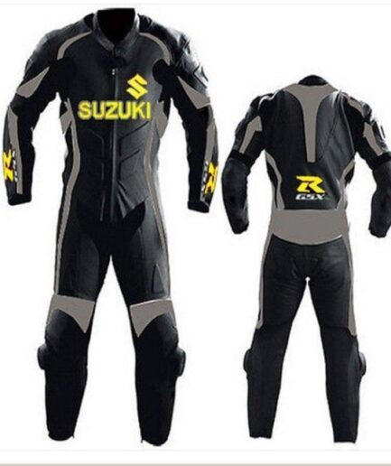 SUZUKI GSXR Motorcycle Branded Leather Suit