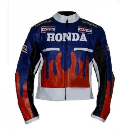 HONDA Repsol Motorbike Leather Jacket