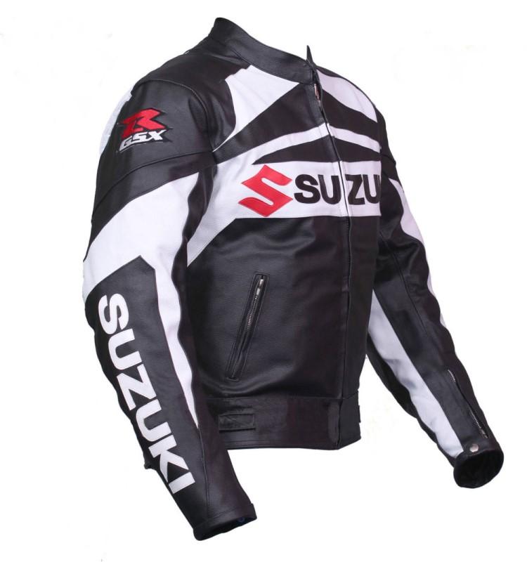 GSXR Suzuki Motorbike Leather Jacket