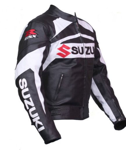 GSXR Suzuki Motorbike Leather Jacket