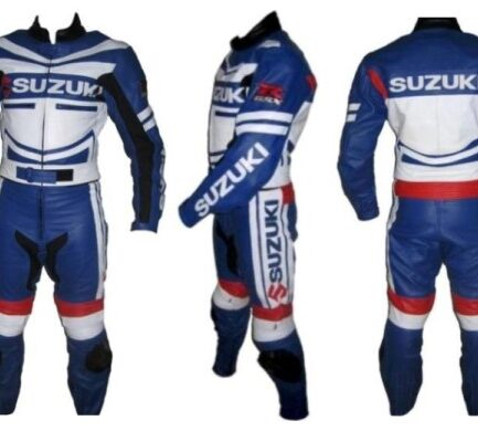 SUZUKI Branded Motorbike Leather Suit