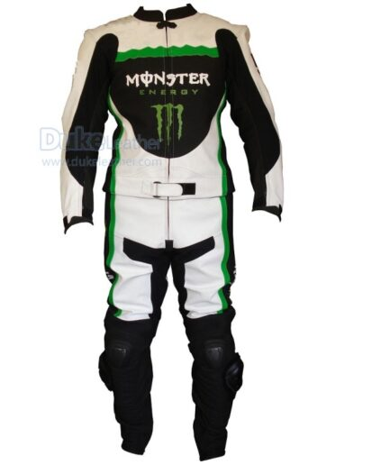 Kawasaki Motorbike Sport Leather Suit
