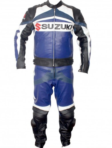 SUZUKI GSXR Motorcycle Leather Suit