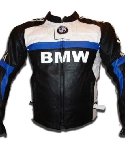 BMW Branded Man Racing Motorbike Leather Jacket