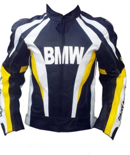 BMW Racing Motorbike Leather Jacket BMJ2515