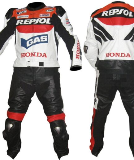HONDA Repsol Motorcycle Leather Suit