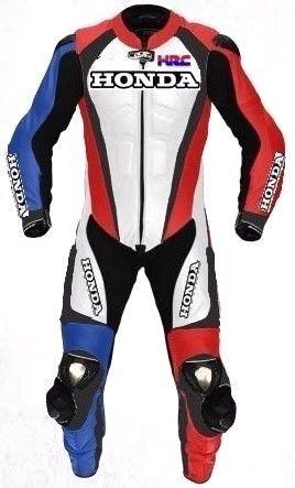 HONDA Motorcycle Sport Leather Suit