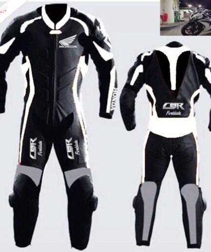 HONDA Motorbike Sport Leather Suit BSM 2982