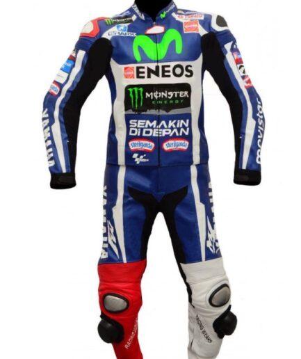 Yamaha Eneos Motorbike Leather Suit Bsm