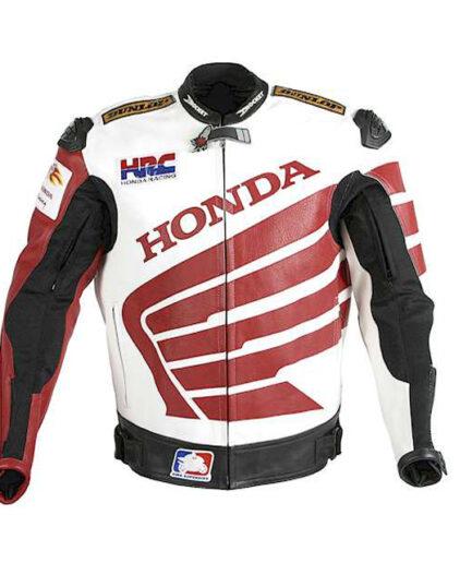HONDA Motorbike Leather Jacket BMJ2928