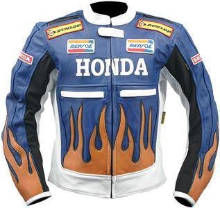 HONDA Motorbike Leather Jacket BMJ2922