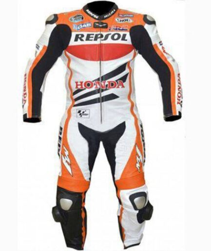 HONDA Repsol Motorbike Raceing Leather Suit
