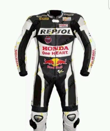 HONDA Repsol Motorcycle Sport Leather Suit