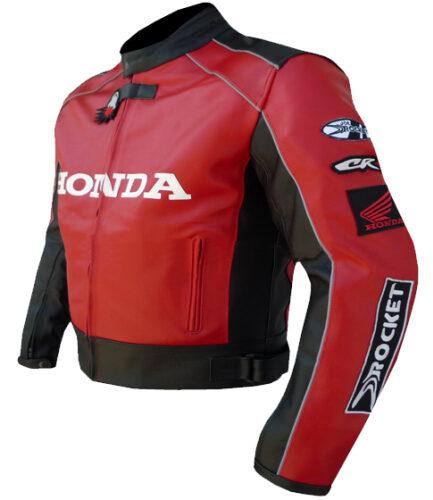 HONDA Motorcycle Sport Leather Jacket