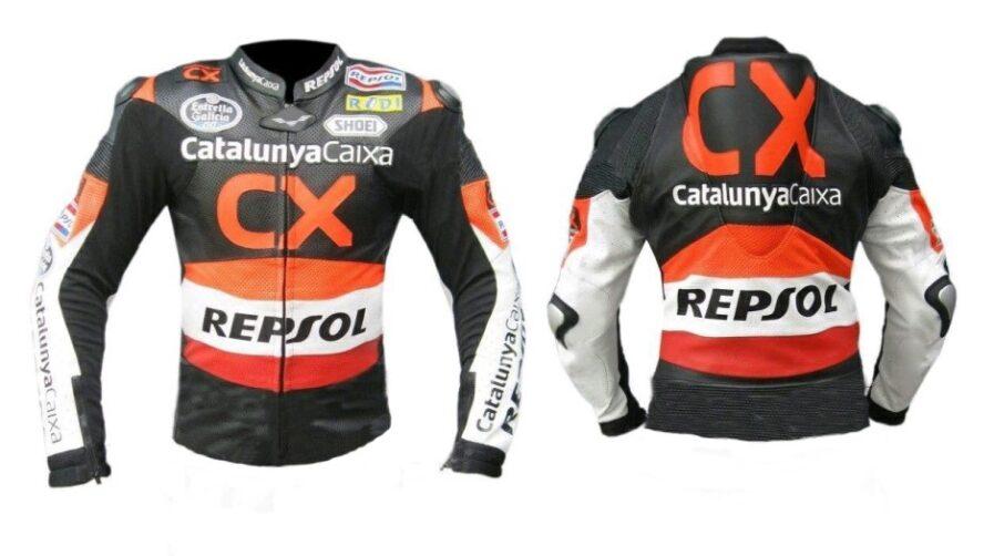 HONDA Repsol Motorcycle Sport Leather Jacket