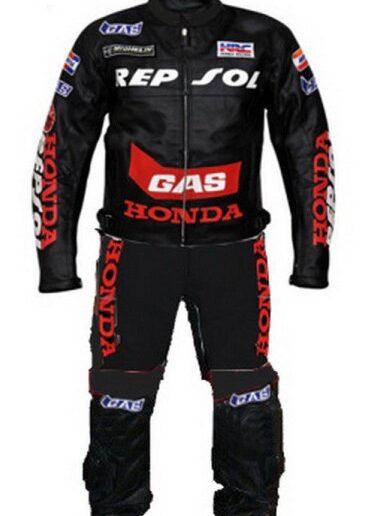 HONDA Repsol Motorbike sport Leather Suit