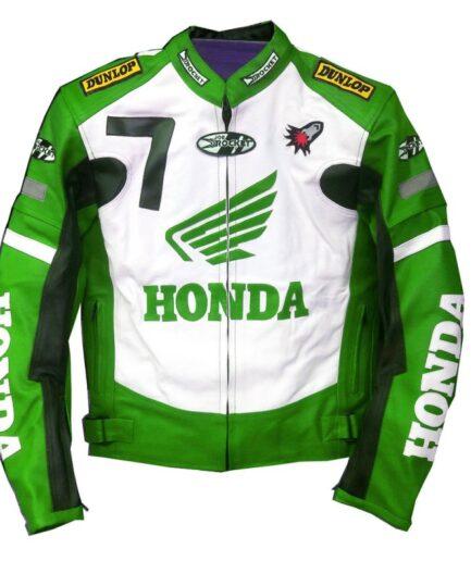 HONDA Motorbike Leather Jacket BMJ2935