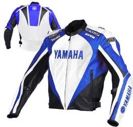 Yamaha Motorcycle Leather Jacket BMJ2849