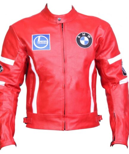 BMW Racing Sport Motorbike Leather Jacket BMJ2509