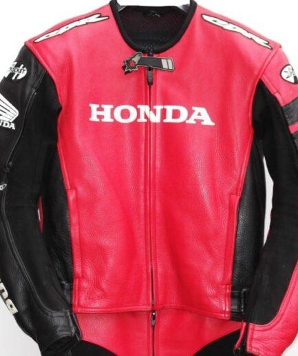 HONDA Motorbike Leather Jacket BMJ2939