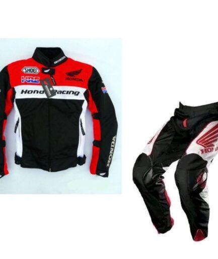 HONDA Motorbike Leather Suit BSM 2980
