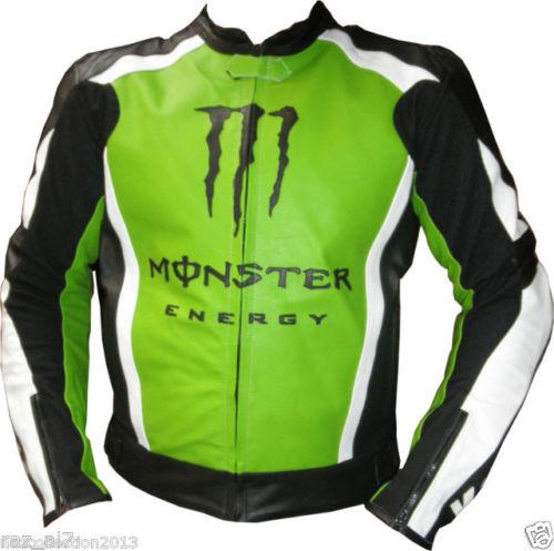 Kawasaki Biker Leather Jacket BMJ 2621