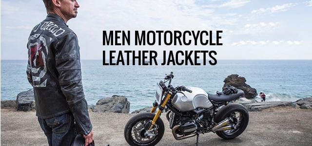 Men Motorcycle Jackets