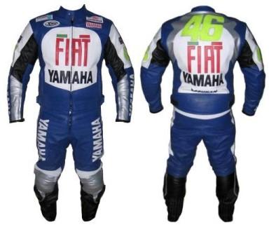 YAMAHA FIAT Motorbike Leather Suit