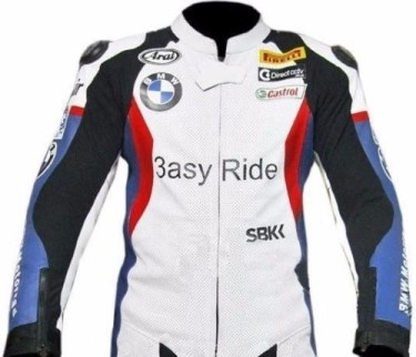BMW Sport Motorcycle Leather Jacket BMJ2519